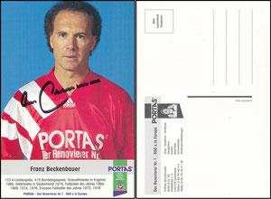 Beckenbauer, 1993, Portas