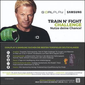Kahn, 2017, Goalplay Train'n Fight Challange 'TSV Eiche, Worpswede'