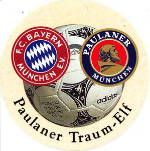 Paulaner, 1996, Traum-Elf, Aufkleber