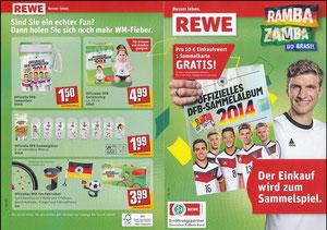 Müller, Thomas, 2014, Rewe WM-Sammelbilder, A5