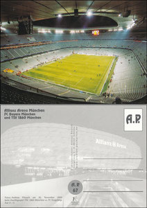 Allianz Arena, 2005, AP-Karte