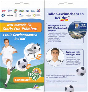 Lahm, 2010, Football Fun Collection, 'DM'-Markt