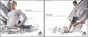 Podolski, 2007, Adidas 'Believe', Booklet