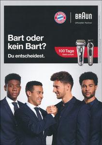 P&G, 2019, 'Bart oder kein Bart', 09'2019, A4