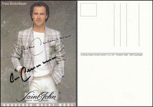 Beckenbauer, 1986, Saint John