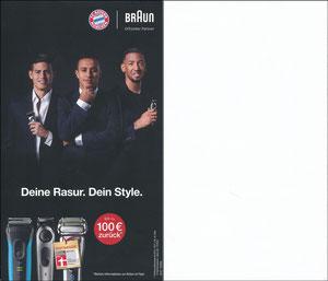P&G, 2019, Braun '100€ zurück'