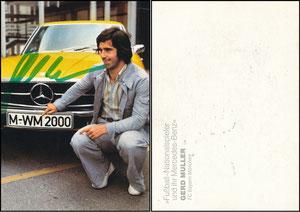 Müller, Gerd, 1974, Mercedes, Motiv 2