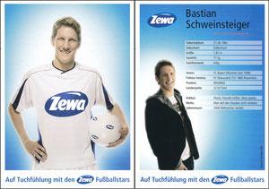 Schweinsteiger, 2006, Zewa, ohne Druck-AG
