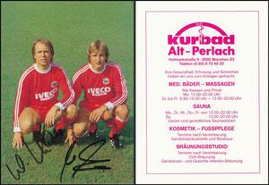 Gemeinschaftskarte, 1984, Kraus-Dremmler, Kurbad Alt-Perlach
