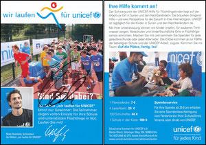 Hummels, 2016, Unicef, signiert Hummels im Febr. 2019