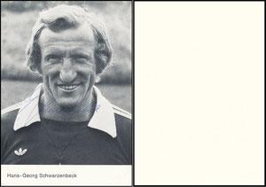 Schwarzenbeck, 1979, Spielerkarte