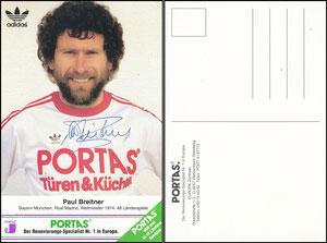 Breitner, 1980er, Portas 'Der Renovierungsspezialist Nr 1 in Europa', grüne Ecke