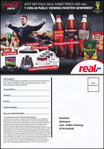 Neuer, 2014, CocaCola Zero, Real 'Public Viewing'