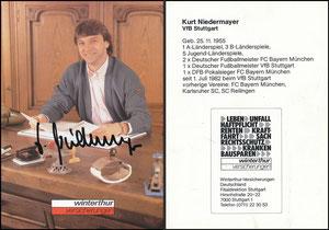 Niedermayer, 1982, Winterthur (kurz nach dem Wechsel von Bayern zum VFB Stuttgart)