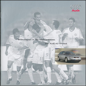 "Audi, 2003, ""Audi A3 limited"", Booklet"