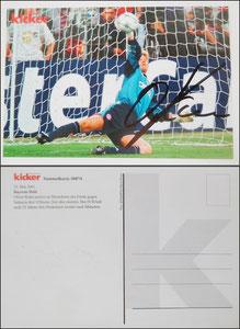 Kicker Sammelkarte 74, Kahn (Bildquelle: google)