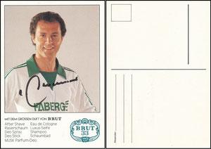Beckenbauer, 1978, Faberge Brut 33, OHNE Druck-AG