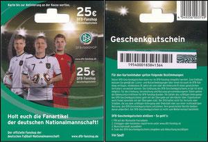 DFB, 2010, 'DFB-Geschenkgutschein 25 EUR'