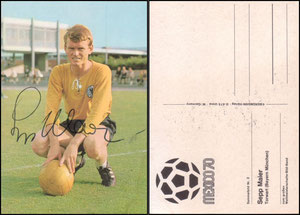"Bermann, 1970, ""WM Mexiko '70"", Maier, Dank an SF Klaus"