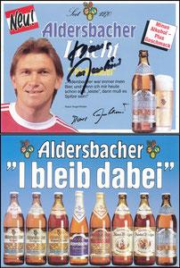 Augenthaler, 1985, Aldersbacher, Aufsteller