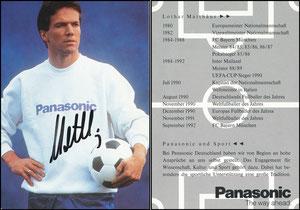 Matthäus, 1992, Panasonic, Motiv 1