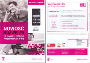 Lewandowski, 2016, T-Mobile, polnischer Flyer