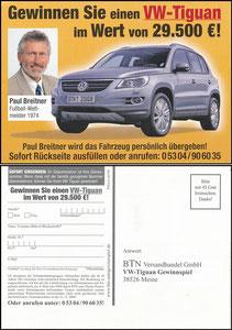 Breitner, 2008, BTN-Münz-Versandhandel
