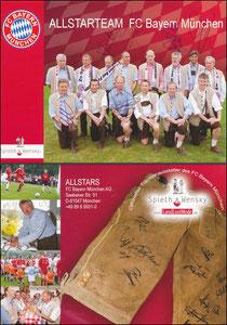 Mannschaftskarte 2007, 'Spieth & Wendsky', 'All-Star-Team'