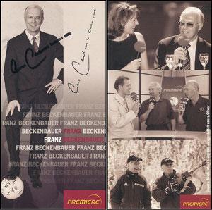 Beckenbauer, 2005, Premiere, mit Druck-AG