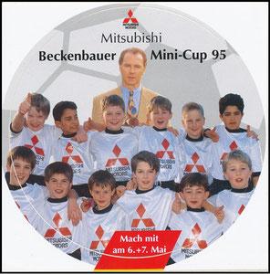 Beckenbauer, 1995, Mitzubishi Mini-Cup