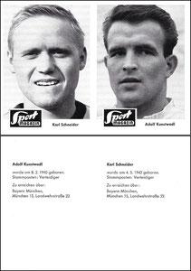 Gemeinschaftskarte 1965, Sportbild, Schneider - Kunstwadl, Front, Dank an SF Heiko