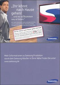 Ballack, 2008, Samsung 'Chystal LCD TV'