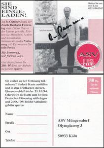 Beckenbauer, 1994, ASV-Fitnessclub Köln