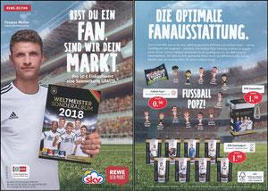 Müller, Thomas, 2018, Rewe-Sky WM-Sammelbilder, A5