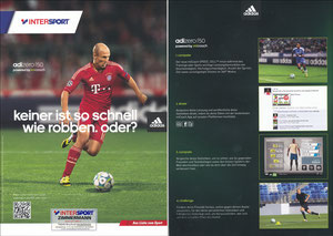 Sky, 2012, Intersport 'Keiner ist so schnell wie Robben', A4 Booklet