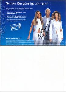 Beckenbauer, 2003, O² (mit Anke Engelke)
