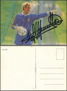 Pfaff, 1986, belgische Postkarte