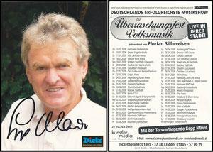 Maier, 2009, Überraschungsfest der Volksmusik
