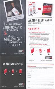Müller, Thomas, 2014, Weber-Grill, Flyer