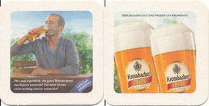Scholl, 2011, Krombacher, Bierdeckel, Motiv 2