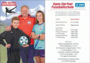 Dorfner, 2017, 'Hans Dorfner Fußballschule'
