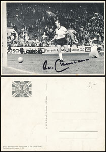 "Bergmann, 1966, ""WM 1966"", Beckenbauer, Spielszene"