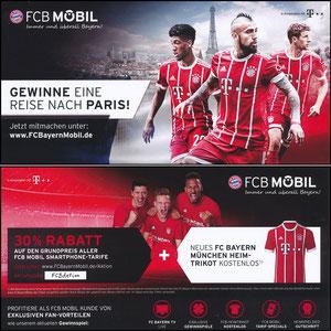 Bayern München, 2017, 09'2017, FCB Mobil 'Paris-Reise'
