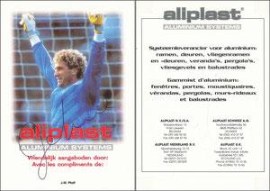 Pfaff, 1990er, Aliplast, belgische Version