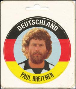 Breitner, 1980er Jahre, Aufkleber Deutschland
