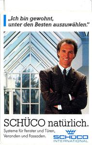 Beckenbauer, 1990, Schüco, Aufkleber