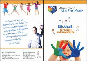 Neuer, 2014, Kids-Foundation