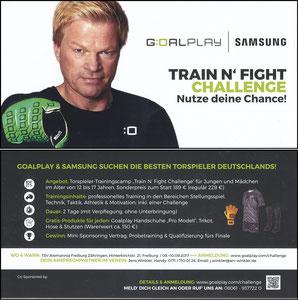 Kahn, 2017, Goalplay Train'n Fight Challange 'TSV Alemannia Freiburg Zähringen'