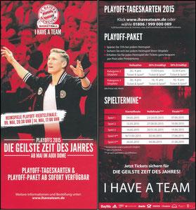 Schweinsteiger, 2015, Basketball, Flyer