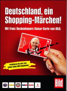 Beckenbauer, 2010, Kaiser-Karte, Flyer